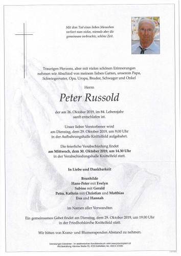 Peter Russold