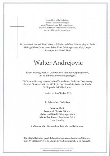 Walter Andrejovic