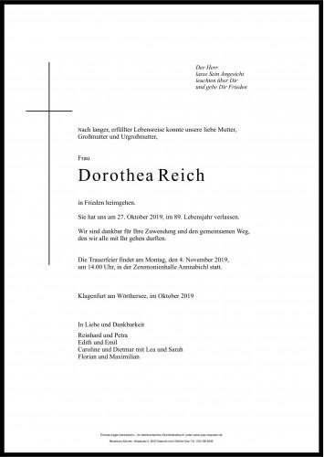 Dorothea Reich