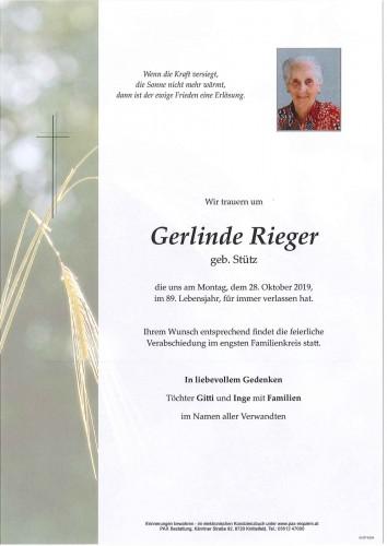 Gerlinde Rieger