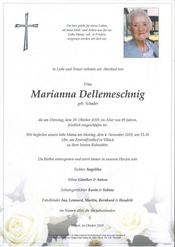 Marianna Dellemeschnig