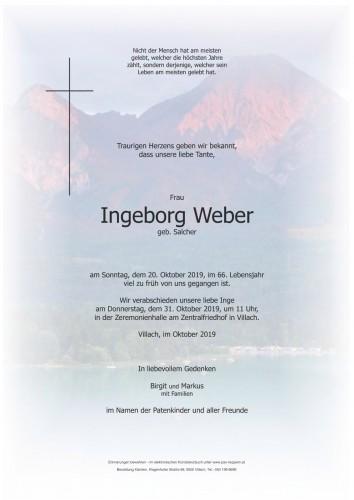 Ingeborg Weber