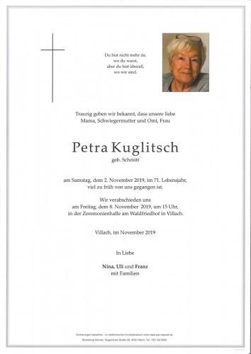 Petra Kuglitsch geb. Schmitt