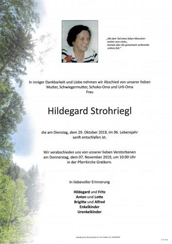 Hildegard Strohriegl