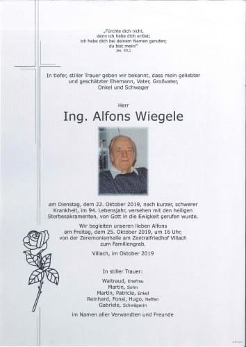 Alfons Wiegele