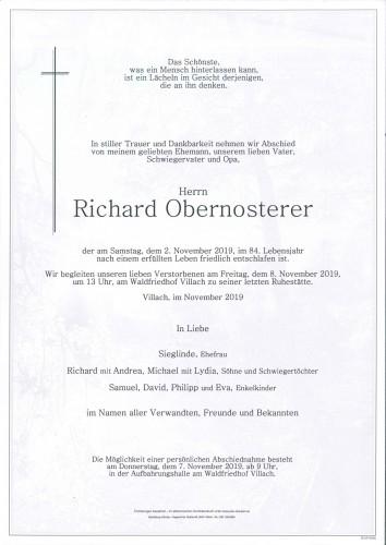 Richard Obernosterer