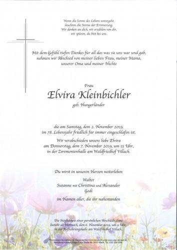 Elvira Kleinbichler