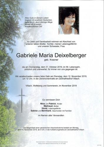 Gabriele Deixelberger