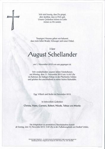 August Schellander