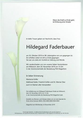 Hildegard Faderbauer