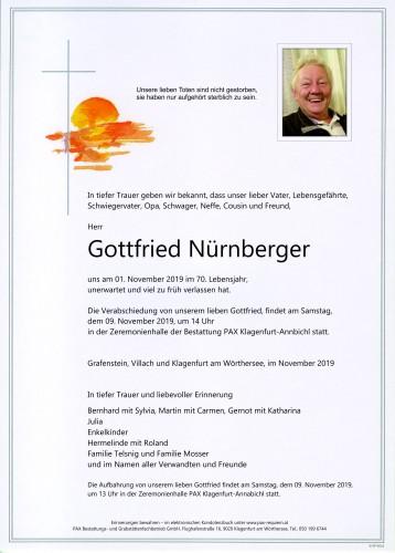 Gottfried Nürnberger