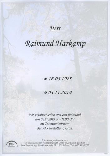 Raimund Harkamp