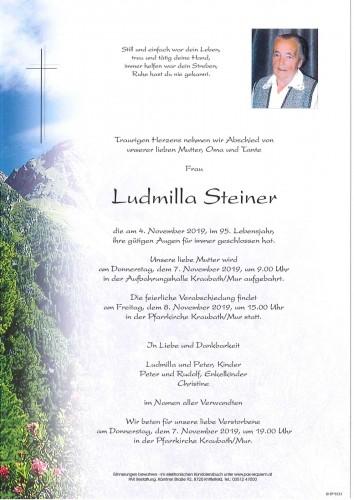 Ludmilla Steiner