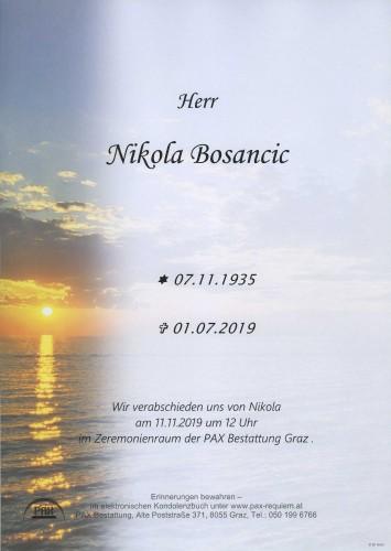 Nikola Bosancic