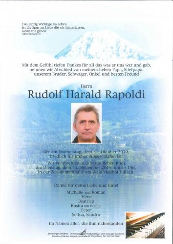Rudolf Harald Rapoldi