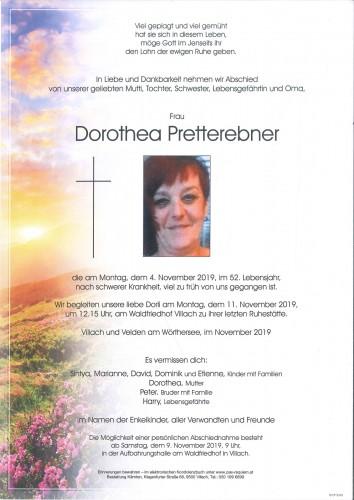 Dorothea Pretterebner