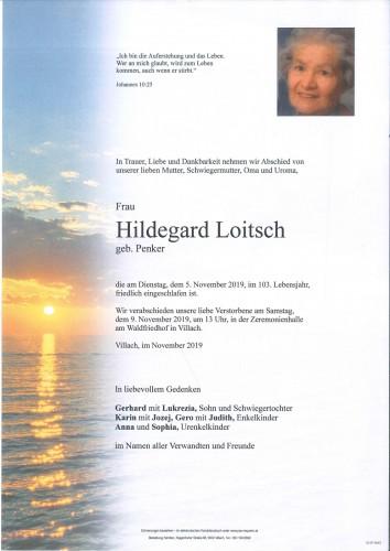 Hildegard Loitsch