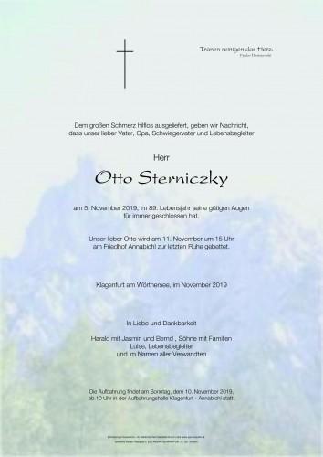 Otto Sterniczky