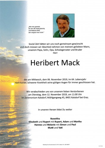 Heribert Mack