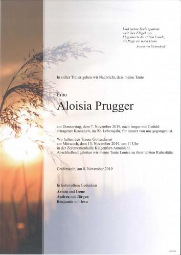 Aloisia Prugger