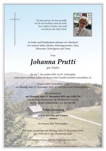 Johanna Prutti