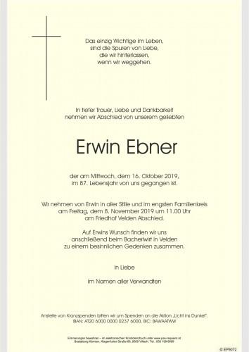 Erwin Ebner