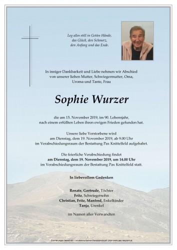 Sophie Wurzer