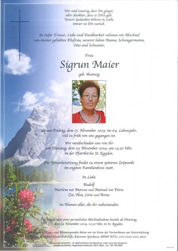 Sigrun Maier