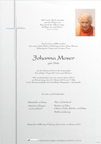 MOSER Johanna