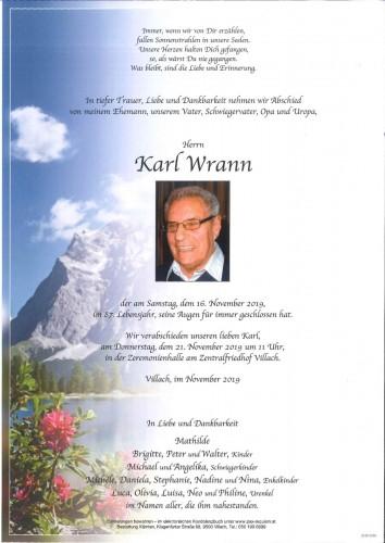 Karl Wrann