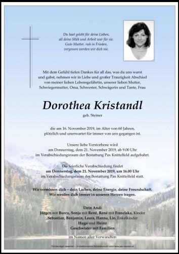 Dorothea Kristandl