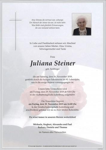 Juliana Steiner