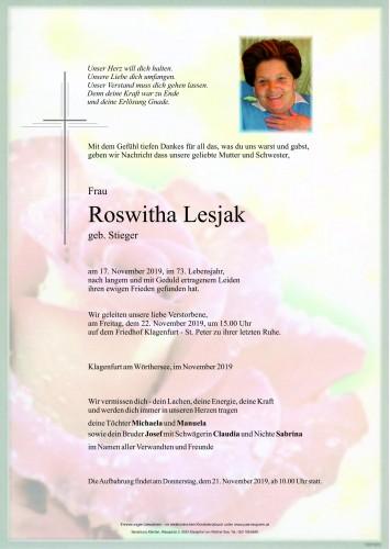 Roswitha Lesjak