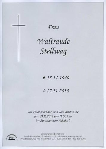Waltraude Stellwag