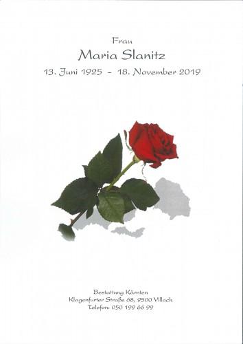 Maria Slanitz