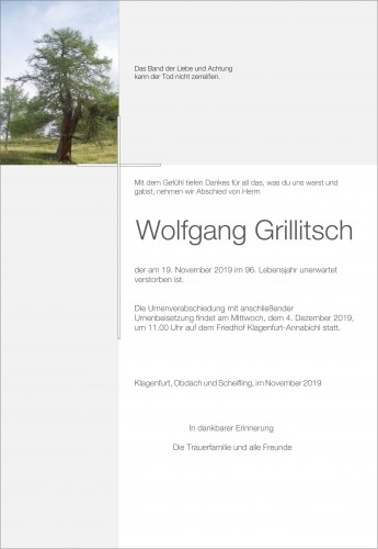 Wolfgang Grillitsch