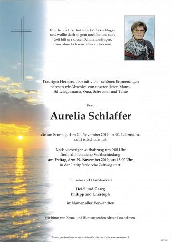 Aurelia Schlaffer