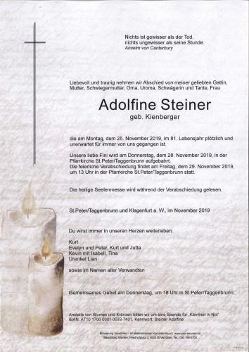 Adolfine Steiner