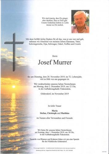 Josef Murrer