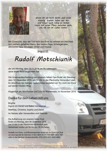 Rudolf Motschiunik