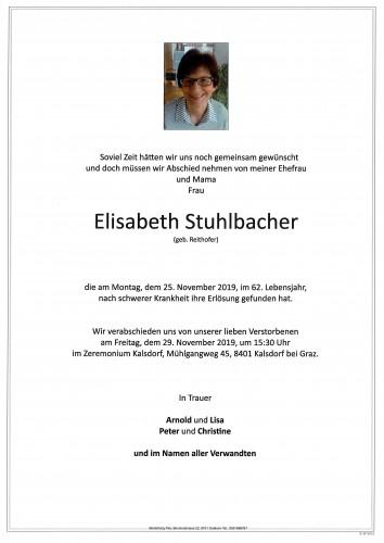 Elisabeth Stuhlbacher