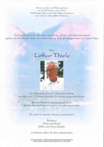 Lothar Thiele