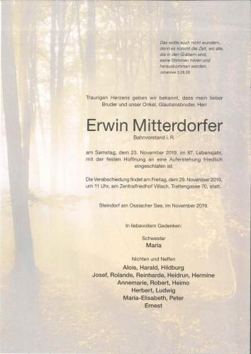 Erwin Mitterdorfer