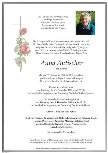Anna Autischer