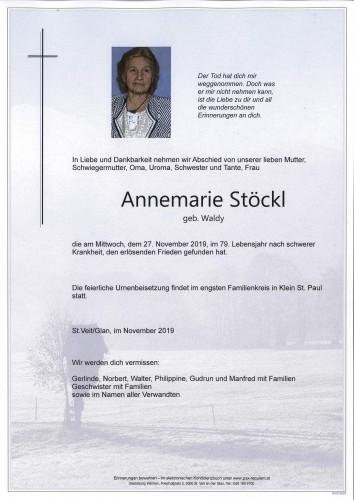 Annemarie Stöckl