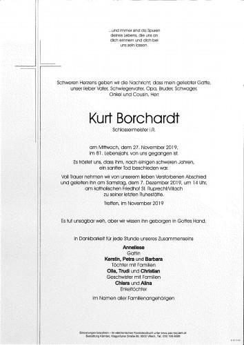 Kurt Borchardt
