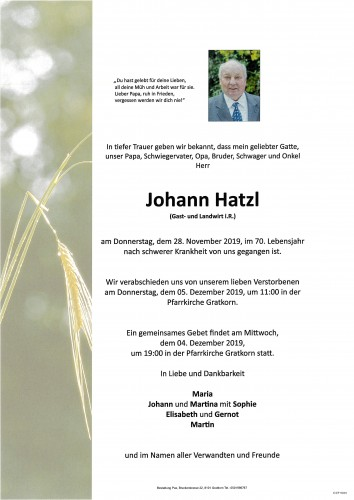 Johann Hatzl