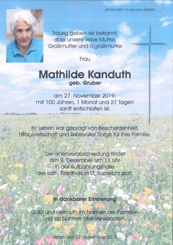 Mathilde Kanduth
