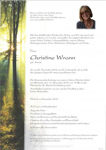 Christine Wrann