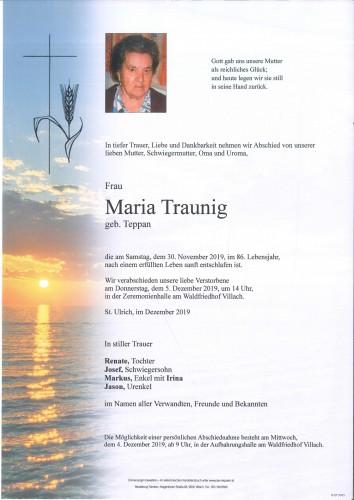 Maria Traunig